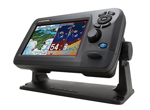 "7"" wide color lcd gps/waas chart plotter & fishfinder combo gp, Fish Finder"