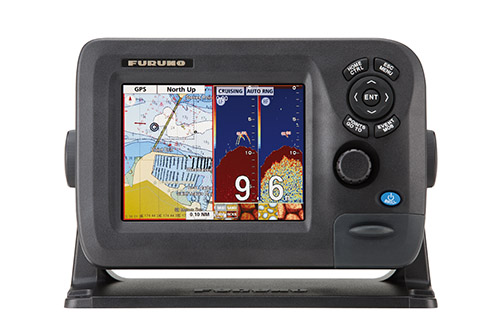 "5.7"" color lcd gps/waas chart plotter & fishfinder combo gp-1670f, Fish Finder"