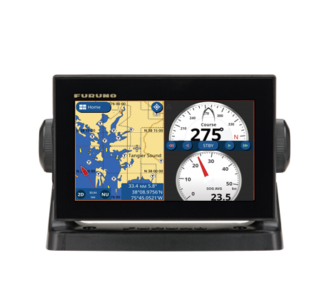 gps/waas chart plotter with built-in chirp fish finder model gp-1871f new