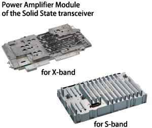 Image of Power Amplifier Module of the Solid State transceiver