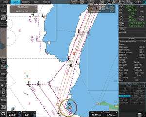 Ecdis Fmd 3100 Ecdis Marine Equipment For Merchant