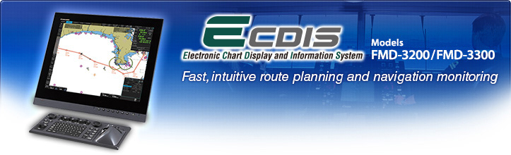 Fast, intuitive route planning and navigaqtion monitoring with FURUNO ECDIS FMD-3200/3300