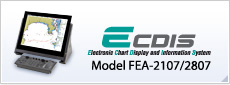ECDIS(Electronic Chart Display and Information System) Model:FEA-2107/2807