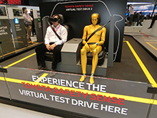 """The main topic"" of the Geneva Motor Show was how to strengthen ""pedestrian protection"""
