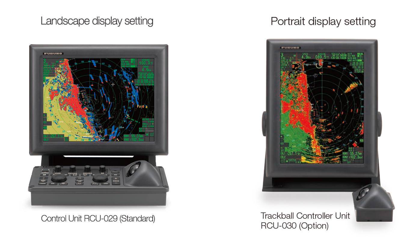 Space-saving and straightforward installation with the display unit  built-in processor