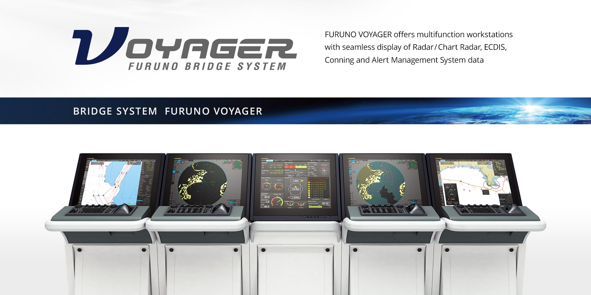 FURUNO VOYAGER, the next-generation bridge system