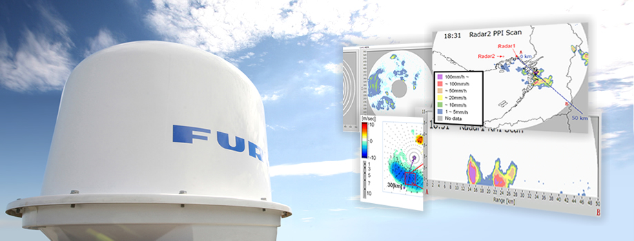 FURUNO's meteorological monitoring and analysing system
