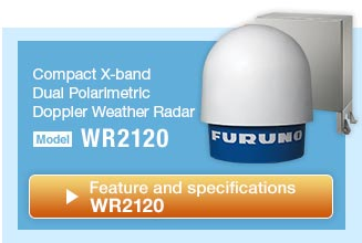 Compact Dual Polarimatric X-band Doppler Weather Radar WR2120