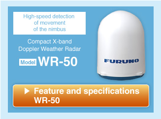 Compact X-band Doppler Weather Radar WR-50