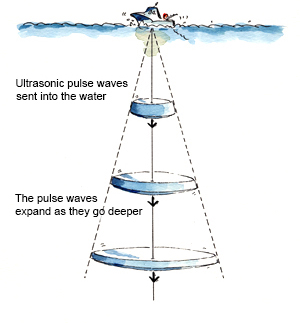 furuno | all about fish finders | topic 09 - about pulse waves, Fish Finder